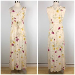 The Limited Floral Maxi Dress XS